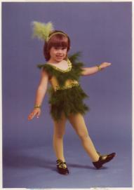 Amanda as The Groovy Chicken